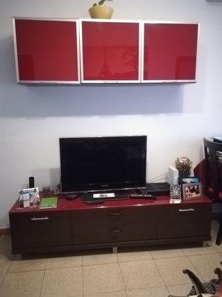 Mueble y vitrina de comedor