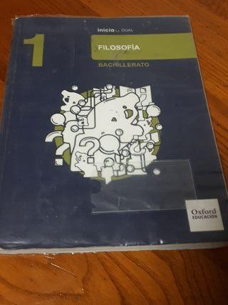 Libro 1 bachillerato. Filosofia
