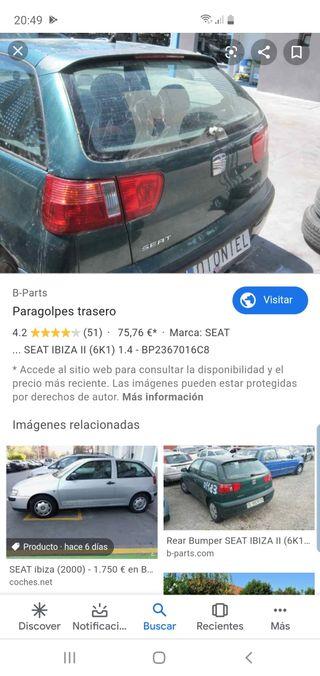 SEAT Ibiza 2000 Despiece