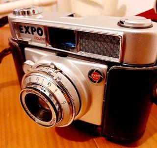 camara antigua fotos + flash