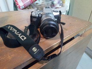 Cámara de fotos reflex minolta dynax 5