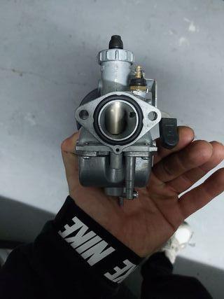 carburador mikuni 22 + filtro malossi