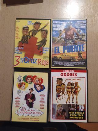 vendo películas de DVD nuevas