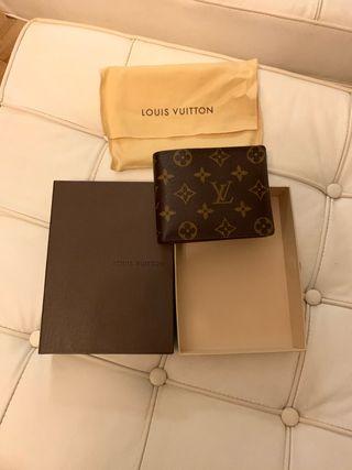 Cartera Louis Vuitton auténtica