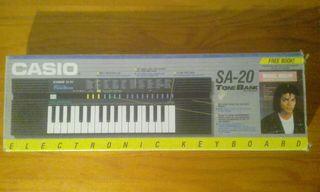 Casio SA 20 teclado electrónico