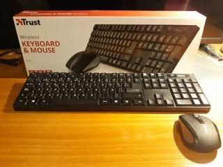 teclado inalámbrico trust