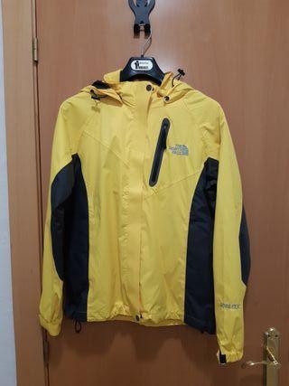 Gore-tex amarillo, The North Face, NUEVO!