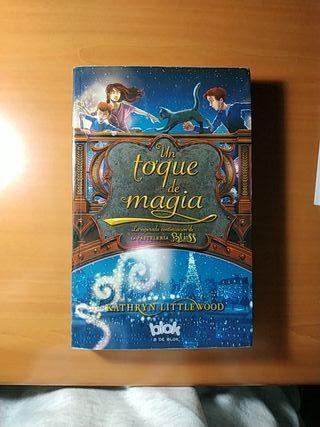 Libro infantil-Un toque de magia