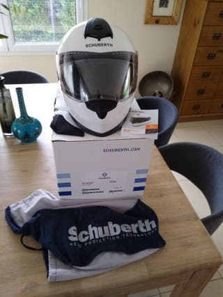 Schuberth S2 Sport blanc comme neuf