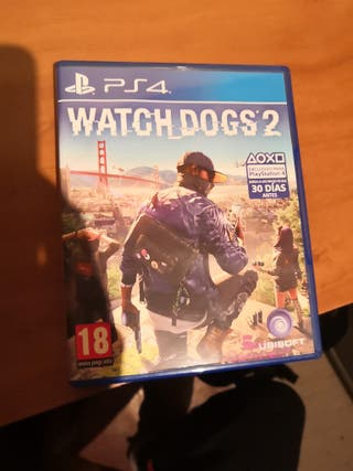 juego ps4- watch dogs 2