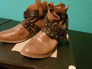 botas camperas bajas