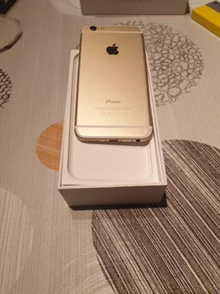 iphones 6 128 gb. impecable 9/10
