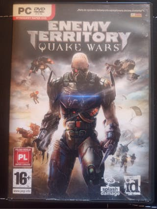 Juego PC enemy territory quake wars.