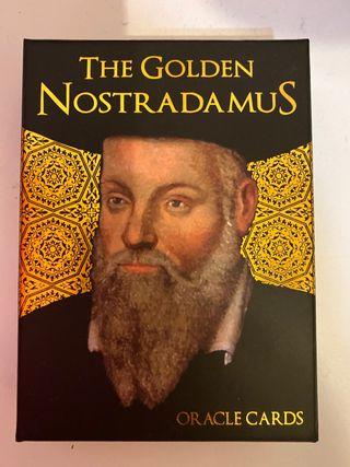 Oraculo cartas Nostradamus NUEVO