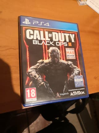 juego ps4 - call of duty black ops3