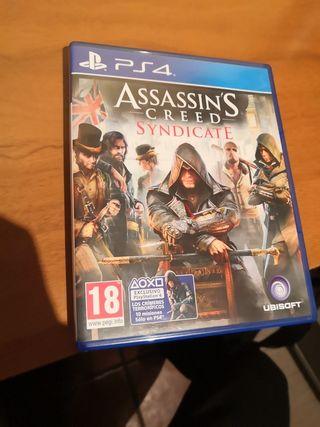 juego ps4- assassin's creed sindicate