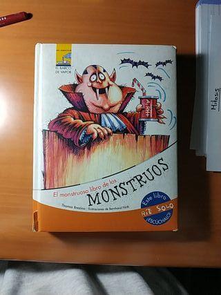 Libro infantil-El monstruoso libro de los monstruo