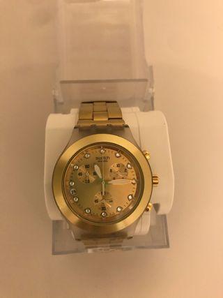 Reloj Swatch Irony dorado