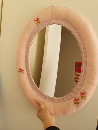 Espejo infantil rosa ikea