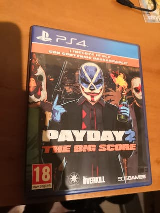 juego ps4- pay day 2 the big score