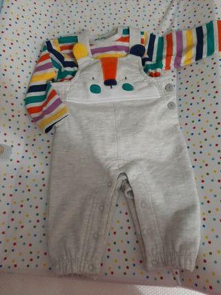 Conjunto bebé TUC TUC 6-9 meses