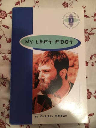 "Libro de inglés ""my left foot"""