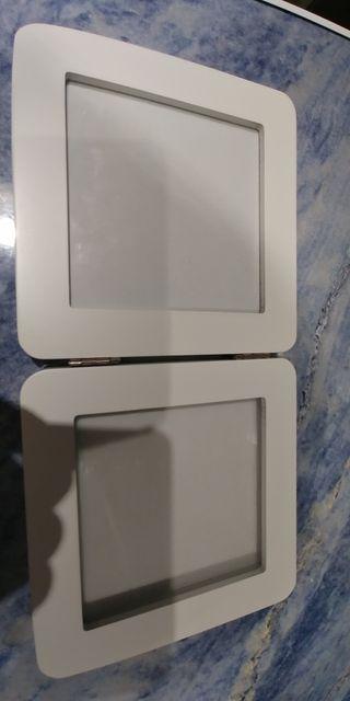 marco baby art color blanco
