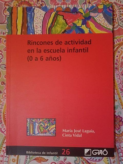 Libro rincones de actividad en la escuela infantil