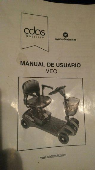 scooter electrico VEO + cama ortopedica de regalo.