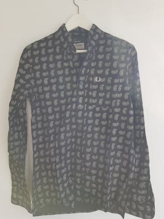 Camisa Pasley Negra Fred Perry Drake's S Hombre