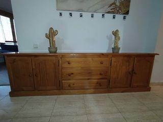 aparador de madera de pino