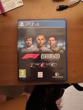 juego ps4 - F1 2018 el videojuego oficial