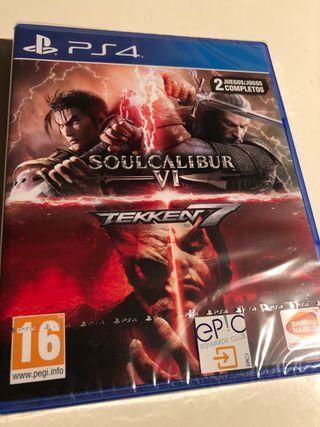 Tekken 7 + SoulCalibur V