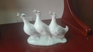 figura de tres patos