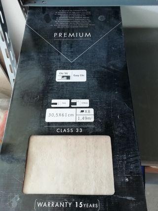 5 cajas de suelo vinilico italiano Premium