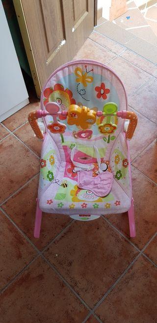 Hamaca Fisher Price rosa