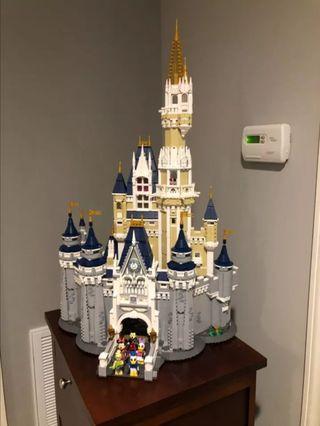 Castillo Walt Disney lego