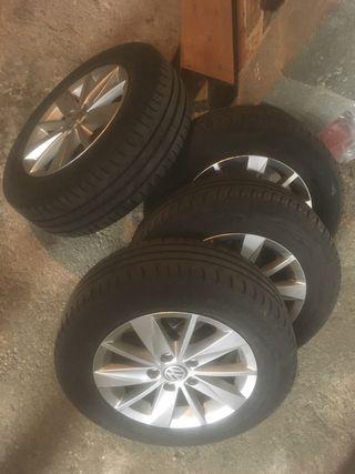 """Llantas Volkswagen Golf VII 15"""" 5x112"""