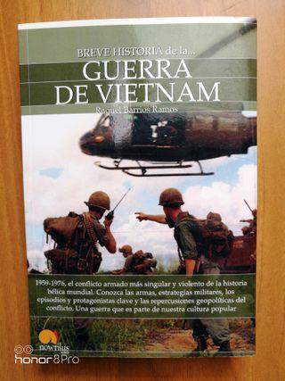 Libro guerra de Vietnam NUEVO