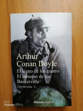 2 Novelas de Arthur Conan Doyle NUEVO