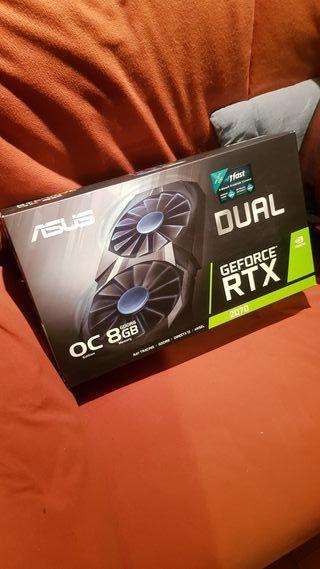 Asus RTX 2070 Dual OC 8Gb Gddr6 tarjeta grafica
