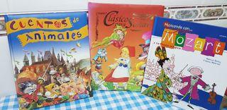 Libros de cuentos intantiles,clasicos,animales..