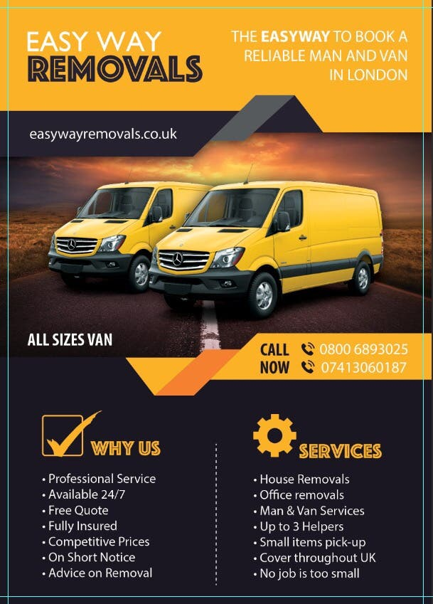 Man and van /removals
