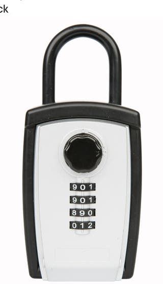 Candado car key guardallave