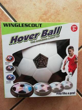 Balón de fútbol estatico