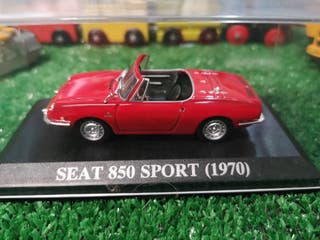 Maqueta Seat 850 sport 1970