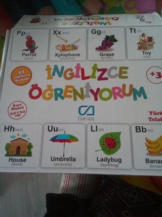 juego de cartas ingles turco