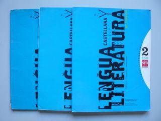 3 Libros texto Lengua 2º ESO