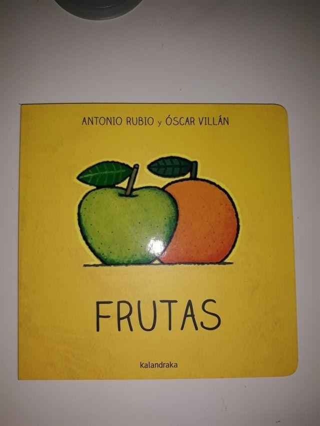 Libro infantil: Frutas