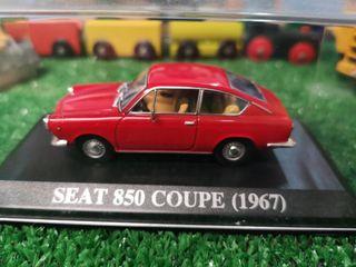 Maqueta Seat 850 Coupe 1967